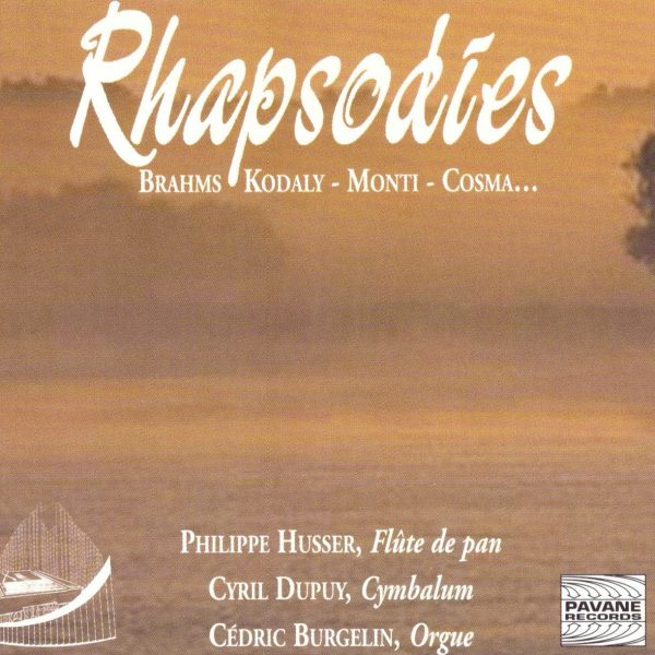 Jaquette Rhapsodies